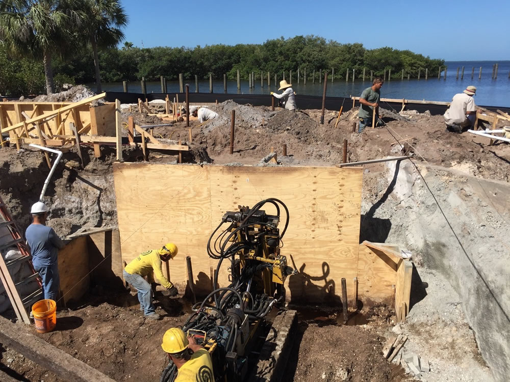 Ryan Hughes Design Build 2 Helical Pilings And Foundation Work