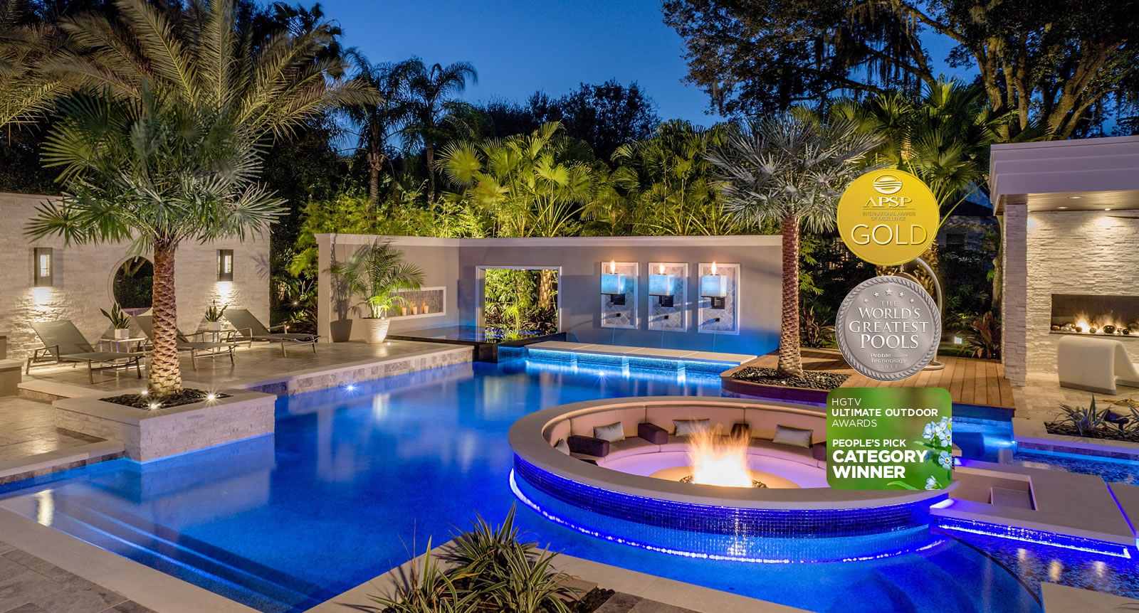 Captivating Swimming Pool Designers. Fire And Water Features. Florida Outdoor Furniture