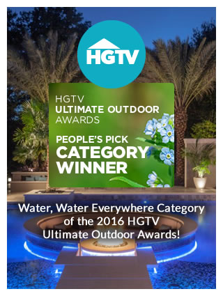 Ryan Hughes Design Build HGTV Ultimate Outdoor Awards Winner