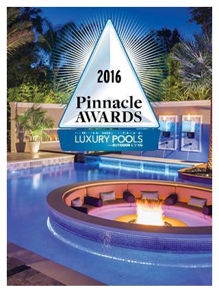 Ryan Hughes Design Luxury Pools Pinnacle Awards 2016