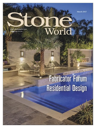 Ryan Hughes Design March 2017 Stone World Magazine