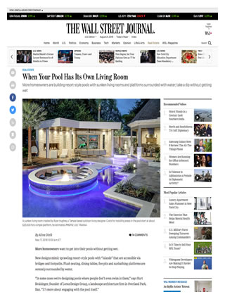 Ryan Hughes Design Wall Street Journal/ Mansion Global May 2018