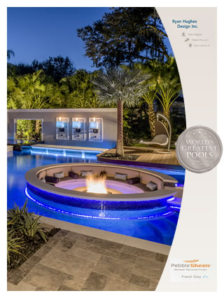 Ryan Hughes Design has been awarded one of Pebble Technology's 2015 World's Greatest Pools (WGP) winners