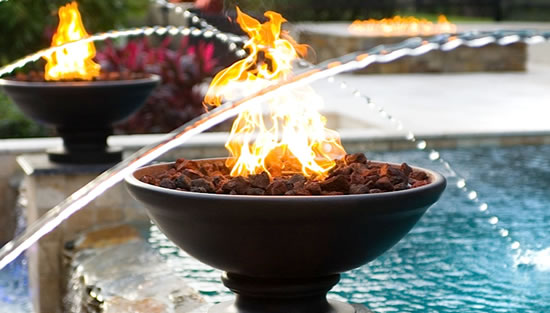 Innovative Fire and Water Features
